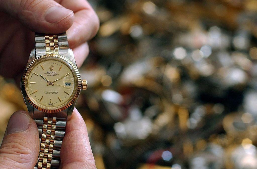 Filderstadt Rolex Im Wert Von 30 000 Euro Gestohlen