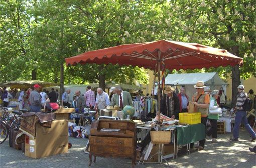 Großer Frühjahrsflohmarkt in Stuttgart
