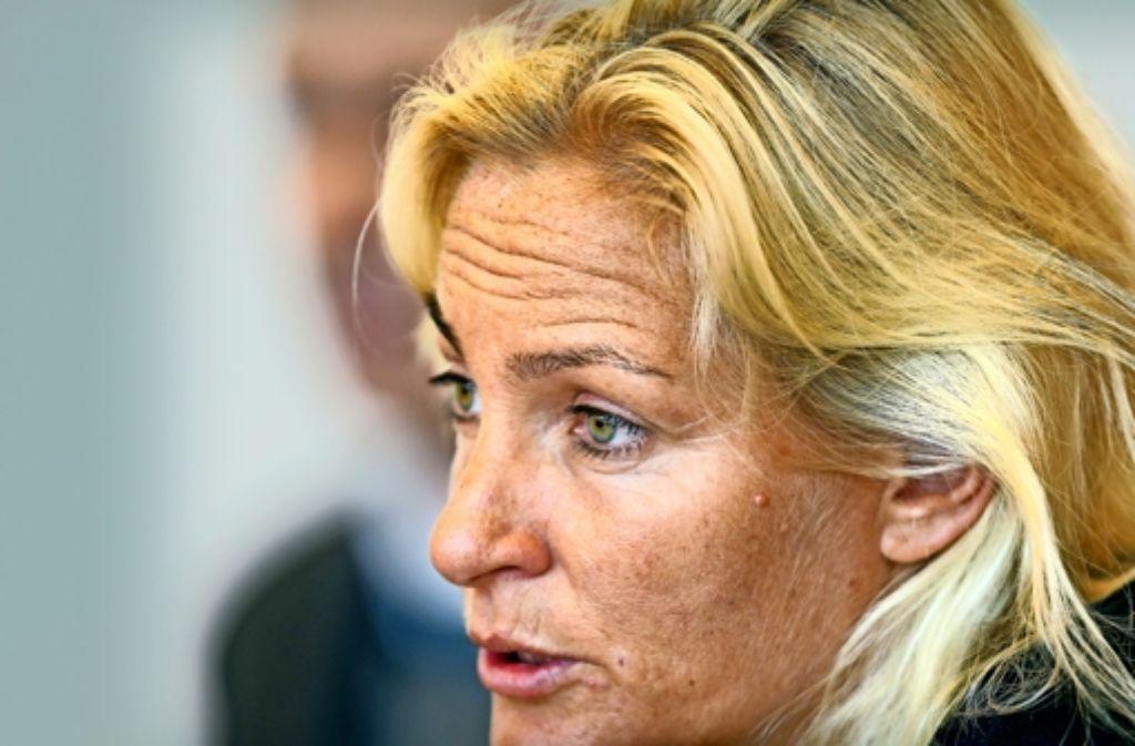 Bundestrainerin Barbara Rittner Nennt Die Porsche Arena Unser Wohnzimmer Foto Baumann