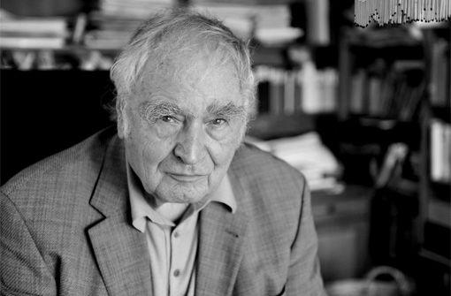 Kammertheater: Lesung und Gespräch mit Martin Walser