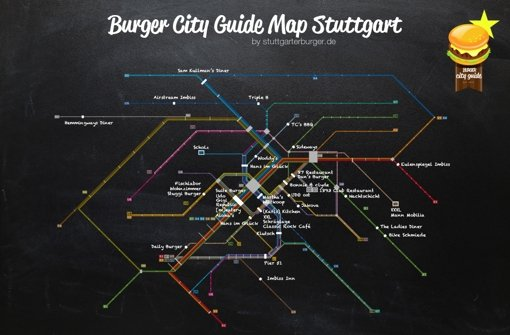 Der Stuttgarter Burger-Führer
