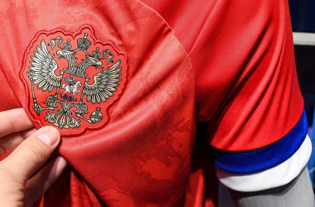 Peinliche Panne Adidas Vertauscht Russische Nationalfarben