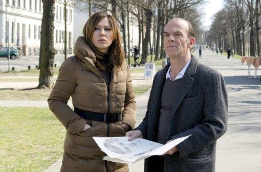 Simone Thomalla und Edgar Selge ermitteln gemeinsam. Foto: MDR/HA Kommunikation