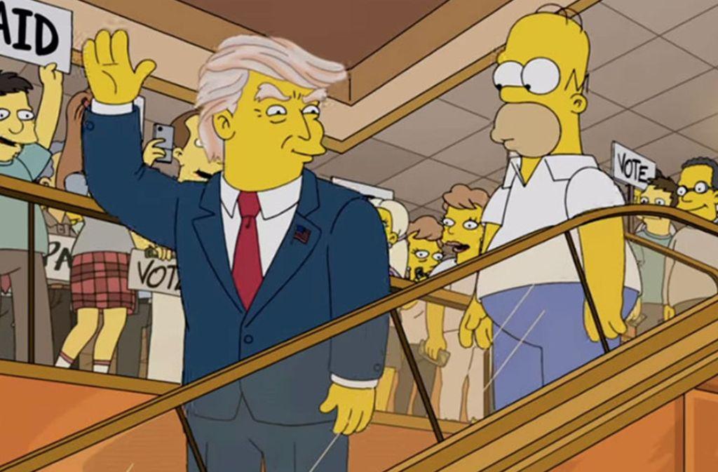 Simpsons Vorhersage Trump