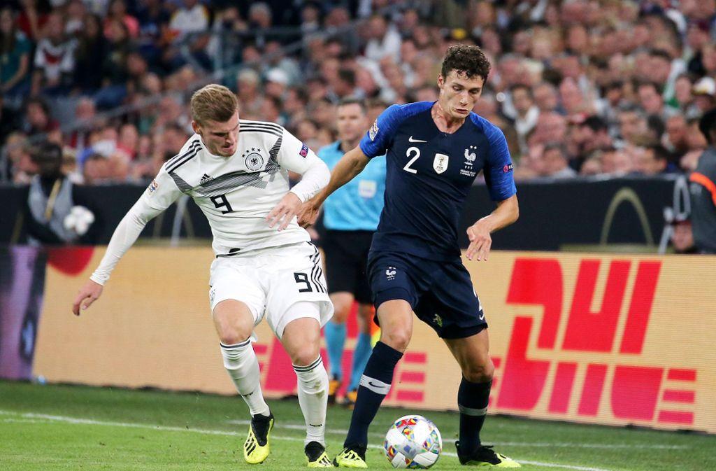 Fussball Frankreich Deutschland
