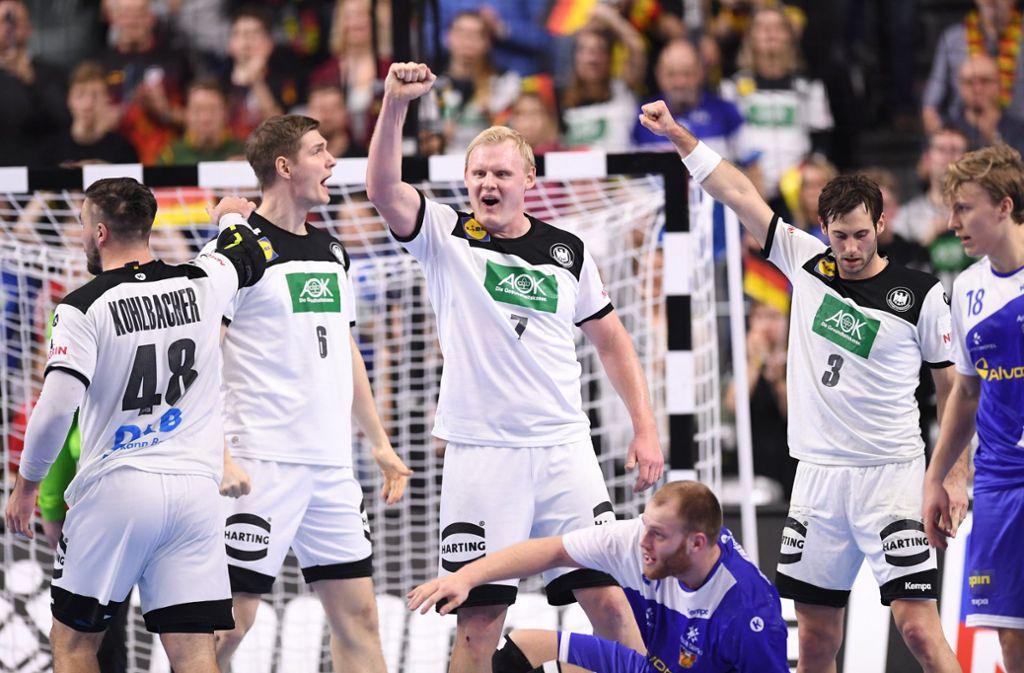 Island Handball Nationalmannschaft
