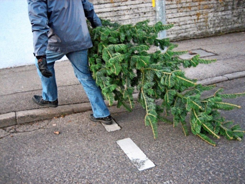 Weihnachtsbaum abgeben stuttgart