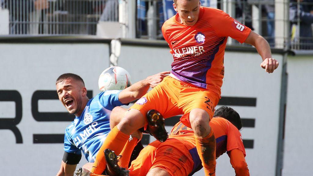 Stuttgarter Kickers Gegen Fc Nottingen Sieges Serie Der