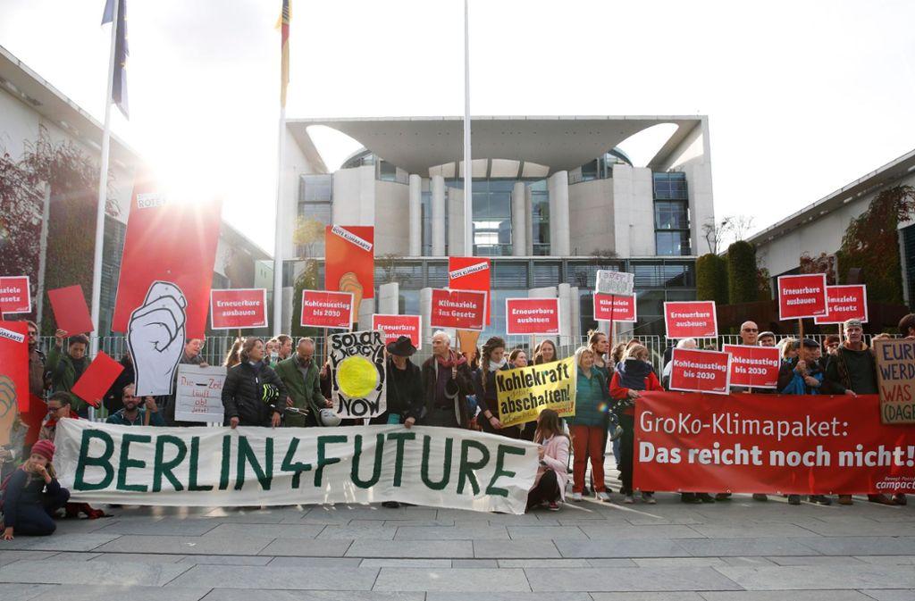Resultado de imagen de Eckpunkte für das Klimaschutzprogramm