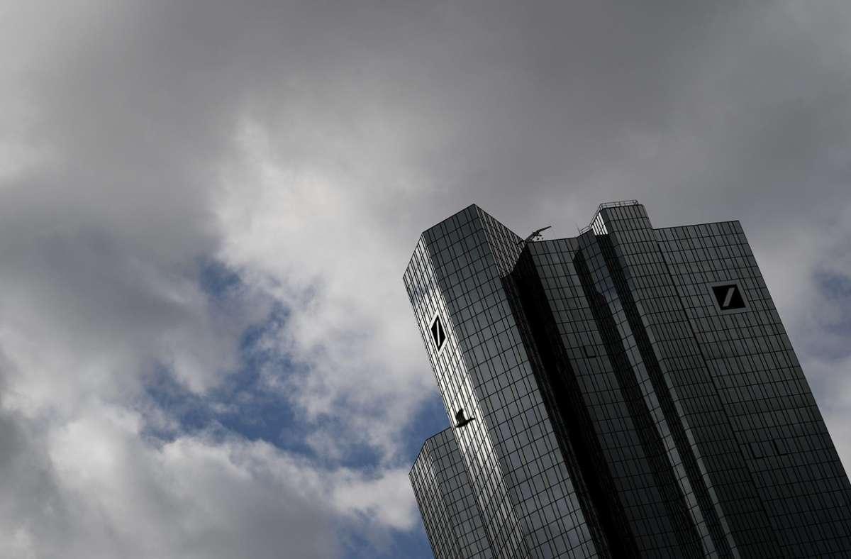 Girokonto Deutsche Bank Plant Erhohung Der Gebuhren Wirtschaft Stuttgarter Zeitung