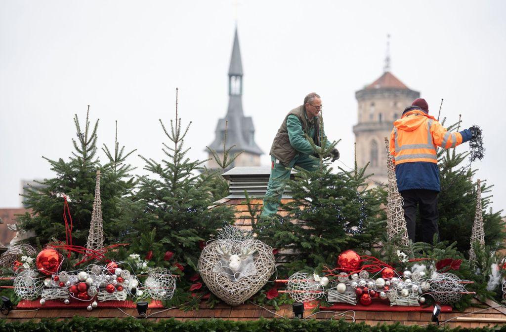 Eröffnung Weihnachtsmarkt Stuttgart 2019.Stuttgart Das ändert Sich Auf Dem Weihnachtsmarkt Stuttgarter