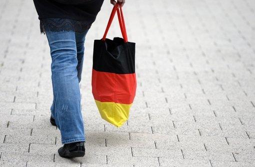 Deutsche Verbraucher in Hochstimmung
