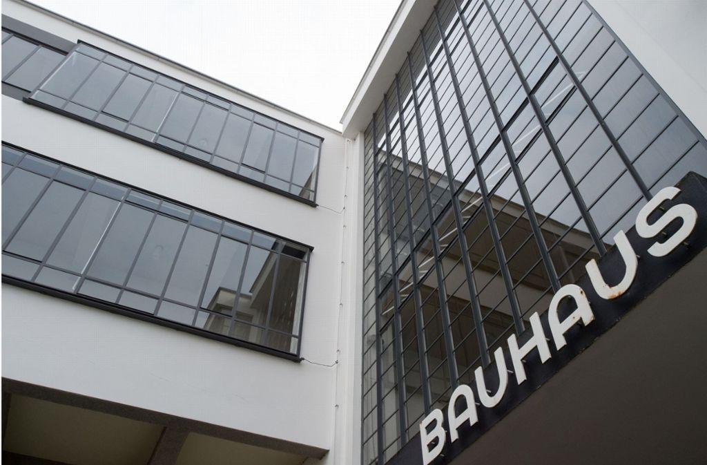 Das Bauhaus Feiert Im Kommenden Jahr Sein 100 Jahr Jubiläum. Foto: Dpa