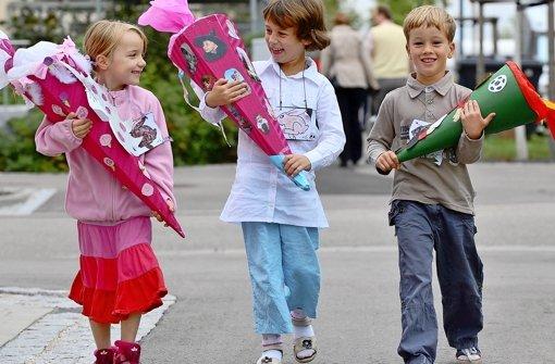 Erstklässler werden nach festgelegten pädagogischen Standards betreut. Foto: dpa