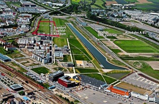 Flugfeldklinik: Ärger um Grundstückskosten