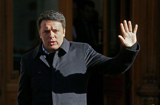 Renzi unter Druck von links