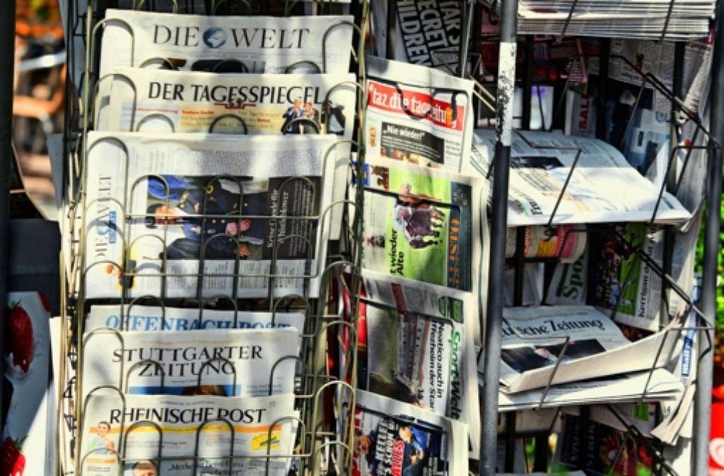 Tageszeitungen bekanntschaften