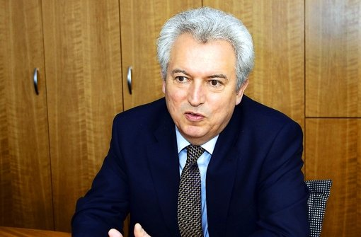 Der Oberbürgermeister Bernhard Schuler Foto: factum/Bach