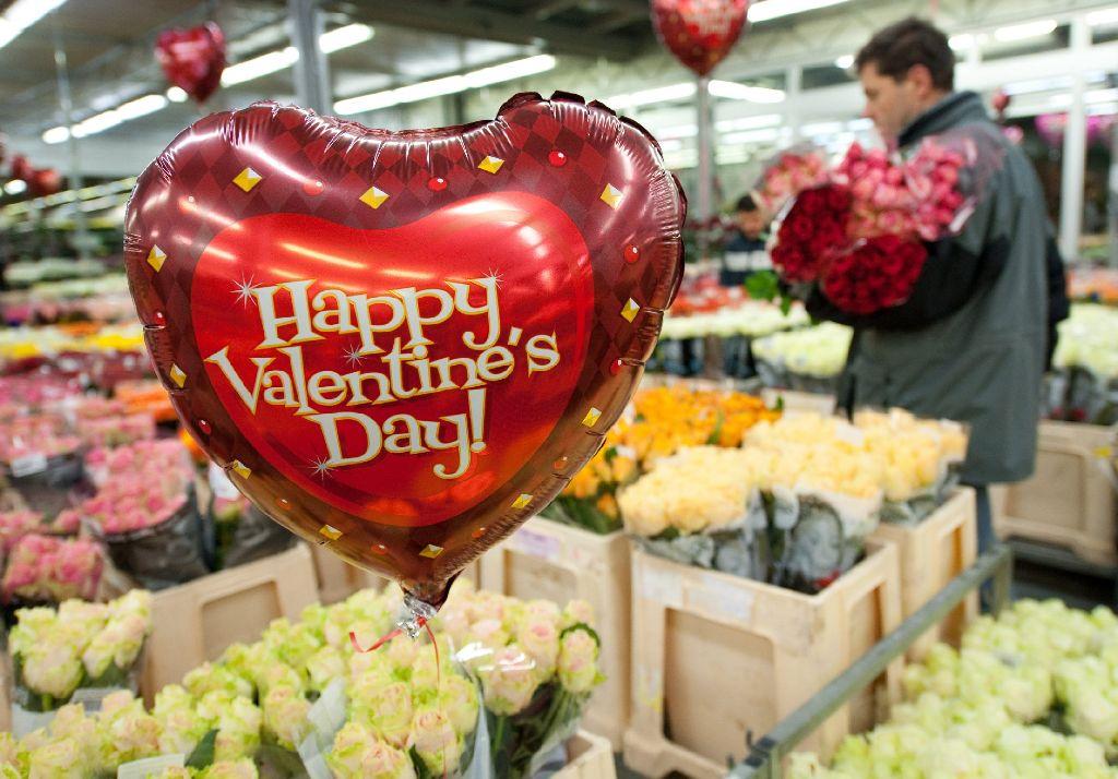 Wer Hat Valentinstag Nach Blumen Sucht, Hat Die Qual Der Wahl. Foto: Dpa