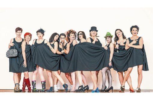 Die AcaBellas präsentieren ein Programm aus Kabarett und A-cappella-Gesang in Balingen