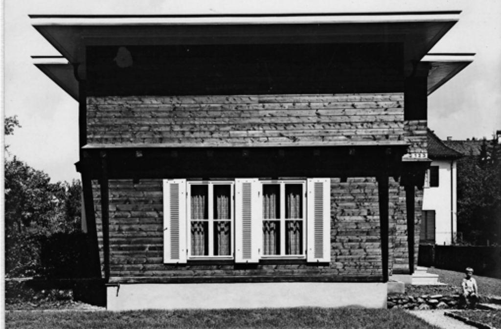 kulturdenkmal in degerloch pionierarbeit des fertigbaus degerloch stuttgarter zeitung. Black Bedroom Furniture Sets. Home Design Ideas