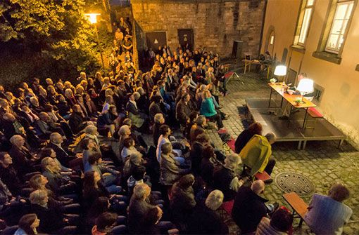 Morgen beginnt das Tübinger Bücherfest