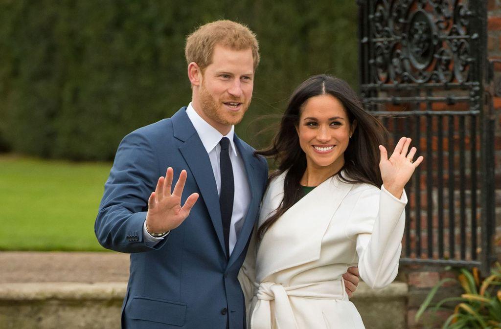 Hochzeit Von Prinz Harry Und Meghan Markle Wer Steht Auf Der