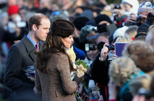 Kate und William kommen ohne George