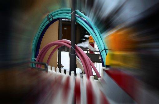 """Eine """"Glasfaser-Infrastruktur"""" soll Privatunternehmen motivieren. Foto: Horst Rudel"""