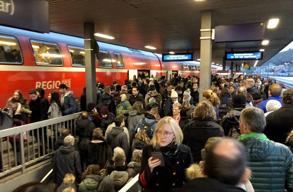 Streik Bahn Stuttgart