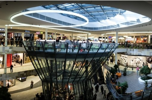 Einzelhandel in stuttgart mehr als 130 000 besucher for Einkaufszentrum stuttgart