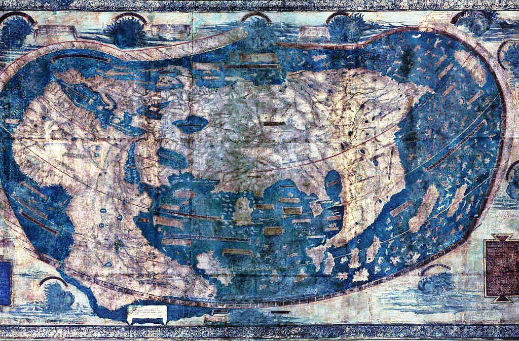 Die Welt Karte.Schuler In Boston Lernen Kunftig Mit Neuer Weltkarte Die