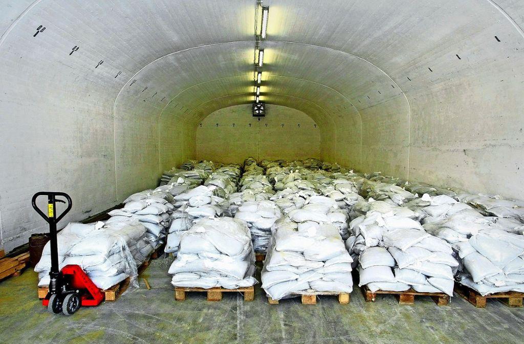 Beuren querschl ger im munitionsdepot landkreis for Depot feuerbach