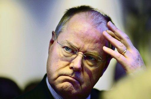 Seit dem Regierungswechsel  2009 hat Steinbrück 89 Vorträge gegen Honorar gehalten. Foto: dpa