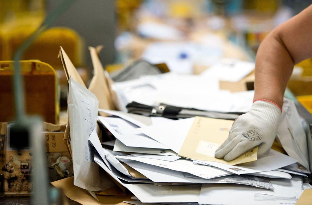 Deutsche Post Probleme Bei Briefen Und Paketen Wirtschaft