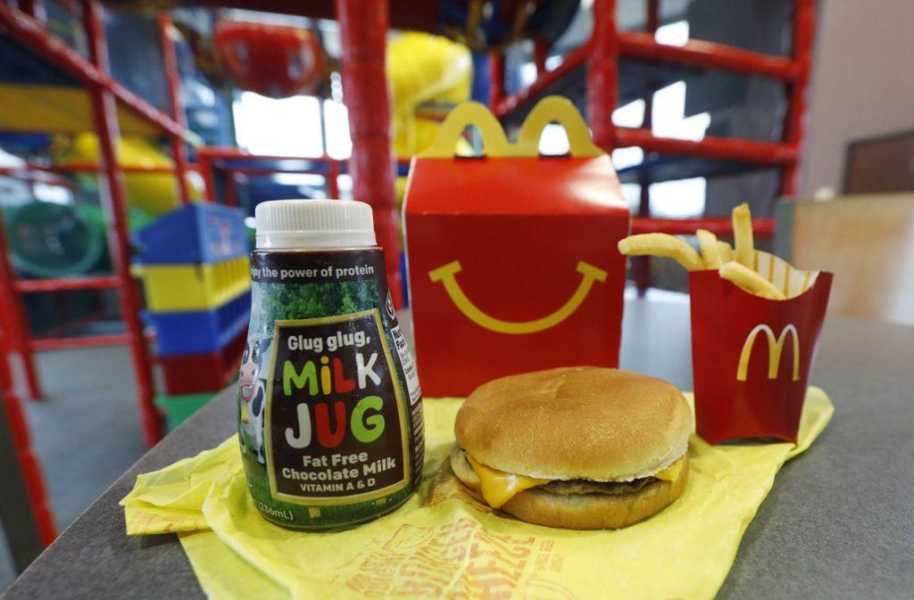 Zu Viele Kalorien Mcdonalds Streicht Cheeseburger Aus Dem Happy