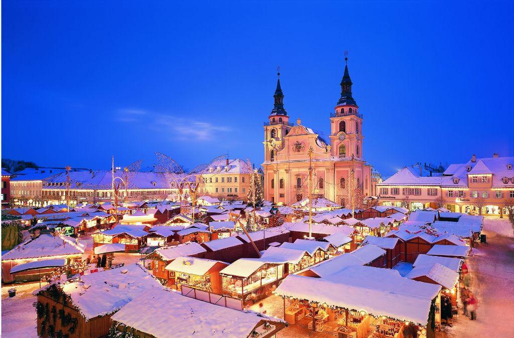 Ludwigsburg Weihnachtsmarkt.Barock Weihnachtsmarkt In Ludwigsburg Zwölf Fakten Zum
