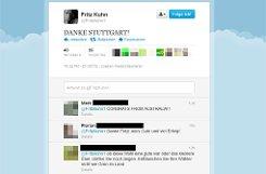 Auf Twitter ein ähnliches Bild: 43 Mal wird a href=https://twitter.com/FritzKuhn1 target=_blankFritz Kuhns Post/a retweetet, 26 Mal favorisiert (Stand: 11.54 Uhr). Foto: Screenshot SIR