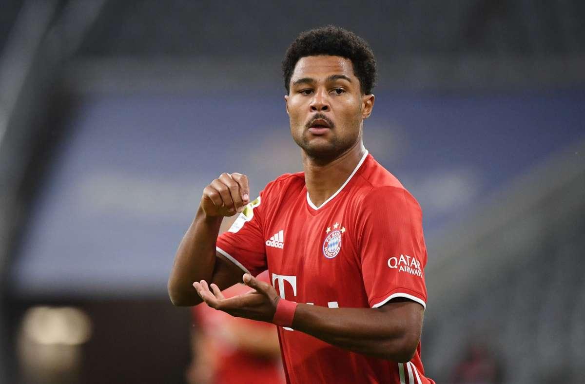 Nach Positiven Corona Test Von Serge Gnabry Uefa Negative Corona Tests Der Bayern Mussen Bis 15 Uhr Vorliegen Fussball Stuttgarter Zeitung