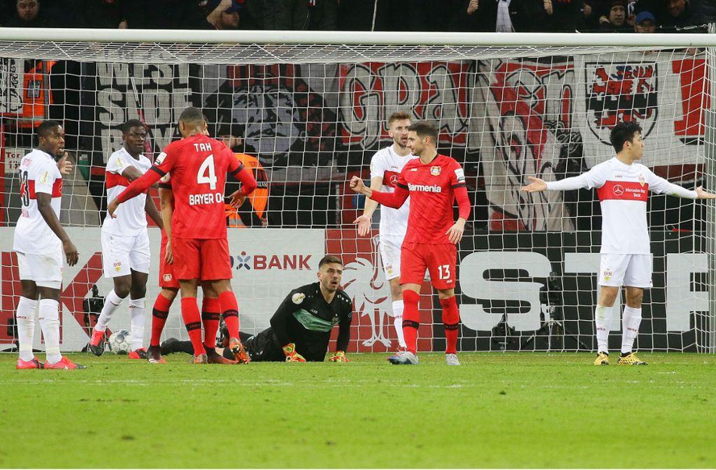 Stuttgart Gegen Leverkusen