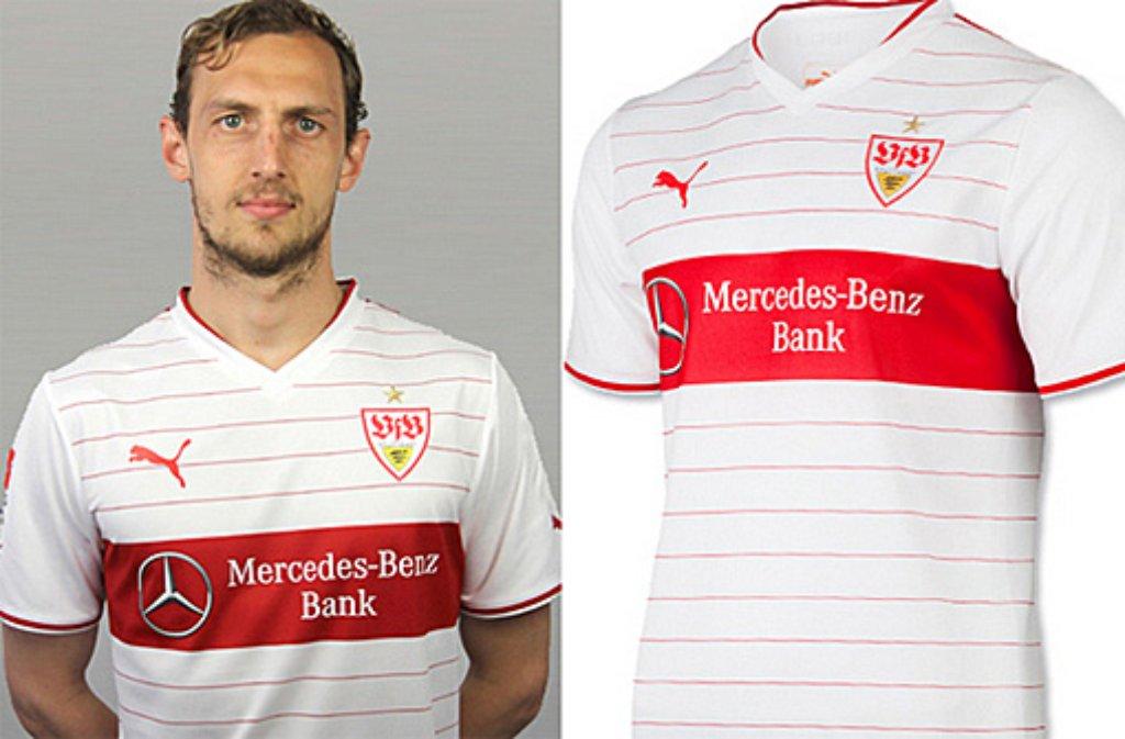watch 7d486 a31a8 VfB Stuttgart: Das neue Trikot des VfB für die Bundesliga ...