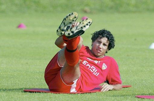 Vergeblich gestreckt: Mario Carevic hat nur sechsmal für den VfB gespielt. Foto: Baumann