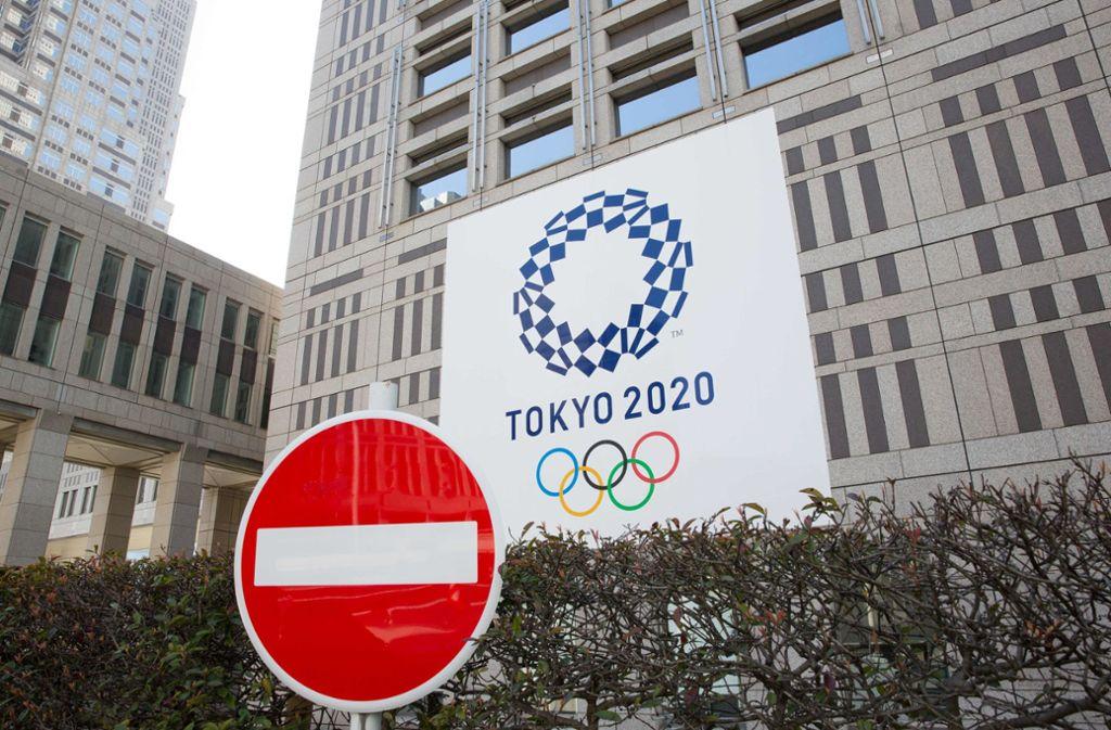 Olympische Spiele 2021 Japan Drohen Milliardenverluste Wirtschaft Stuttgarter Zeitung