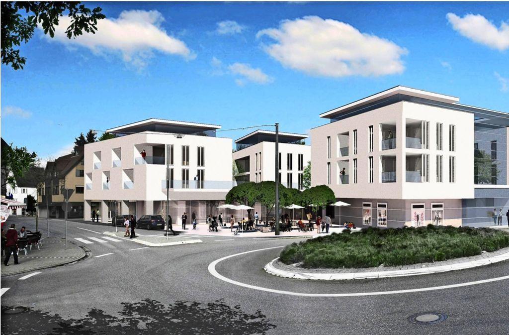Bauprojekt schwaikheim in die neue ortsmitte werden 19 millionen investiert rems murr kreis - Architekten kreis ludwigsburg ...