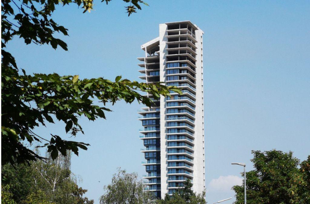 Cg Gruppe Baut Gewa Tower In Fellbach Fertig Bezahlbare Wohnungen