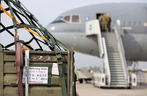 Regierung stoppt Waffenexporte