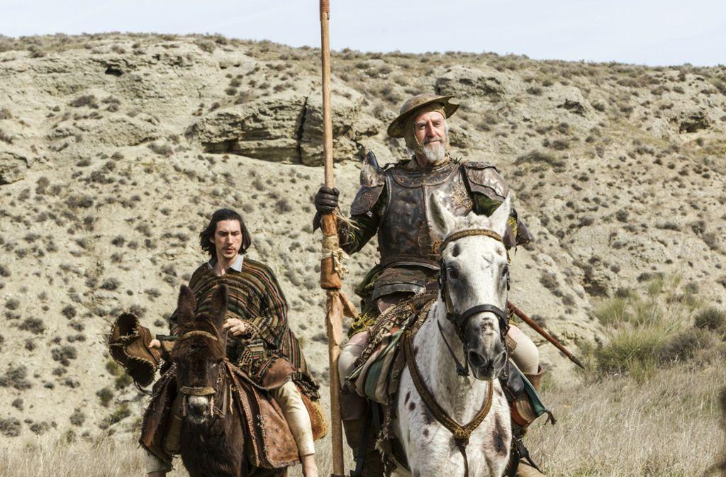 Kinokritik The Man Who Killed Don Quixote Beseelt Von Ritterlichen