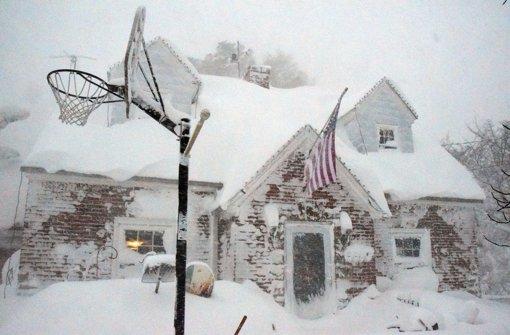 Die USA versinken im Schnee