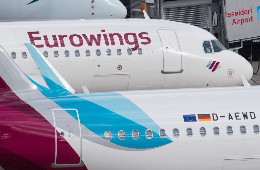 ehemalige air berlin piloten wurden bei eurowings eingestellt foto dpa - Lufthansa Bewerbung Pilot