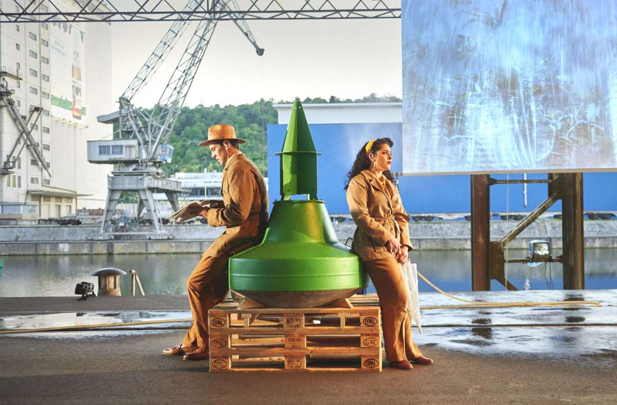 """Staatsoper: """"Trouble in Tahiti"""": Endstation Sehnsucht"""